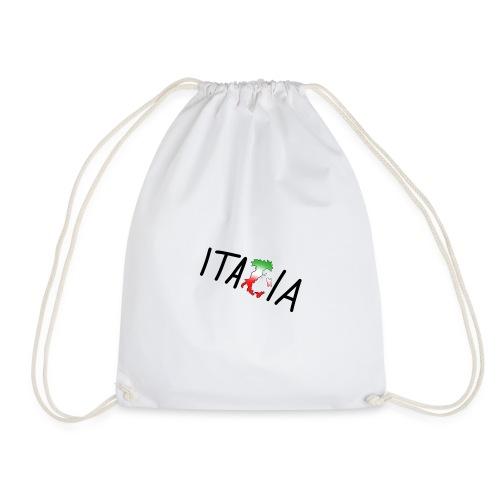 Italia T-Shirt Herren: Schriftzug - Turnbeutel