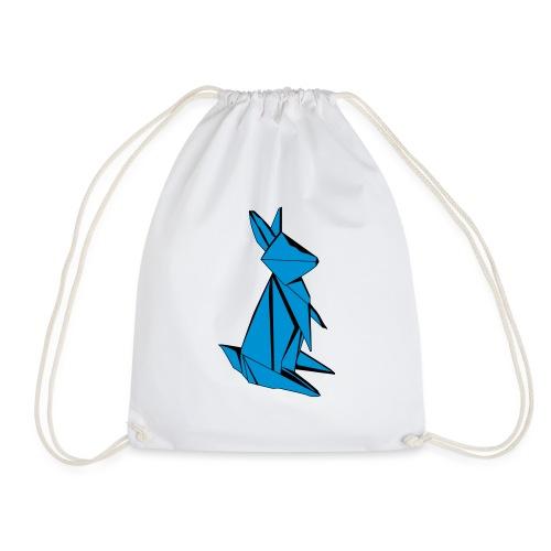 Origami Bunny - Drawstring Bag