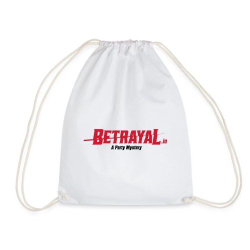 00418 Betrayal logo - Mochila saco