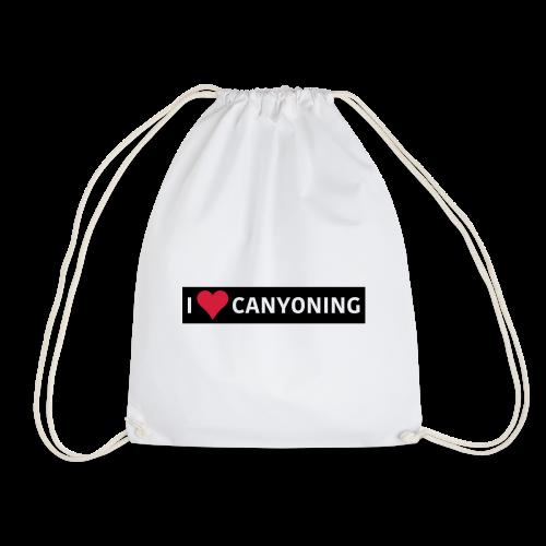 I Love Canyoning - Turnbeutel