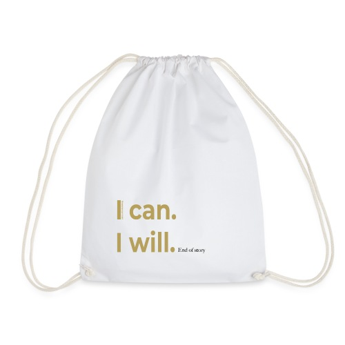 I can. I will. End of story. - Turnbeutel