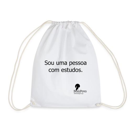 soumapessoacomestudos - Drawstring Bag