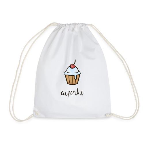 cupcake, cake, muffin, cheesecake, christmas cake - Drawstring Bag