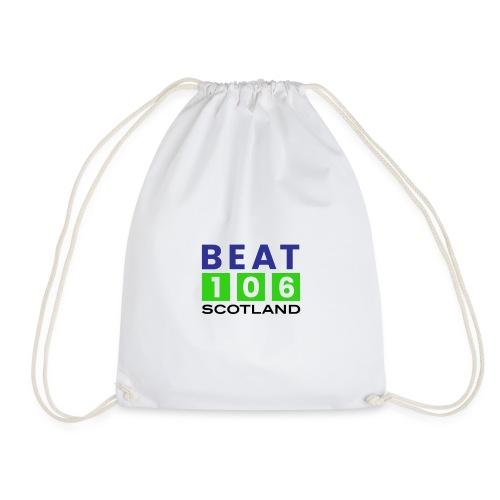 BEAT 106 GREEN DESIGN LARGE - Drawstring Bag