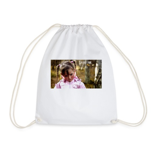 Lille Lise Picture - Drawstring Bag