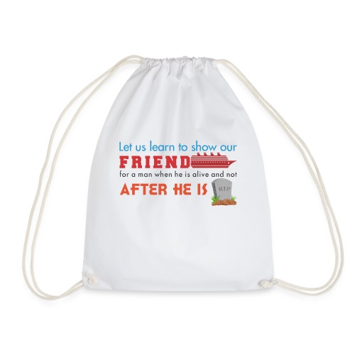 FRIENDS - Drawstring Bag