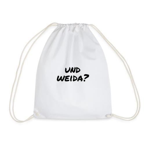 UND WEIDA? - Turnbeutel