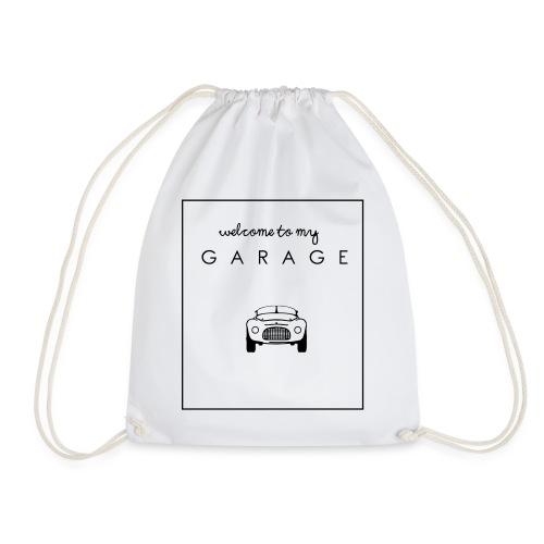 Welcome to my GARAGE - Autoliebhaber - Turnbeutel