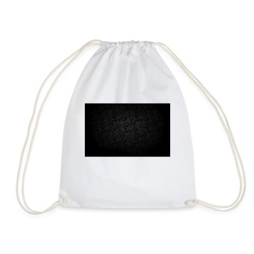 black background pattern light texture 55291 3840x - Drawstring Bag