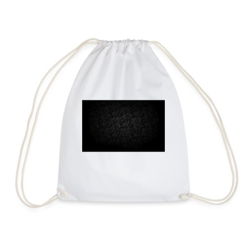 black background pattern light texture 55291 3840x - Drawstring Bag
