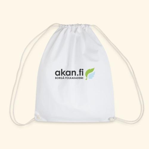 Akan Black - Drawstring Bag