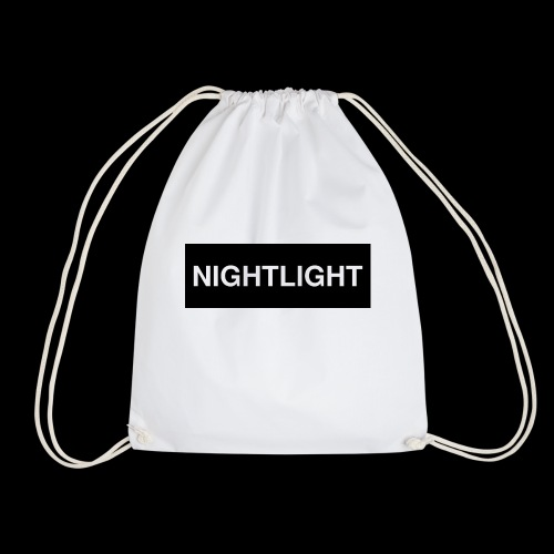 NIGHTLIGHT BOX LOGO (NIGHT) - Drawstring Bag