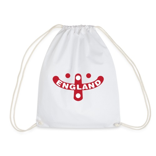 England Supporters Smile - Drawstring Bag