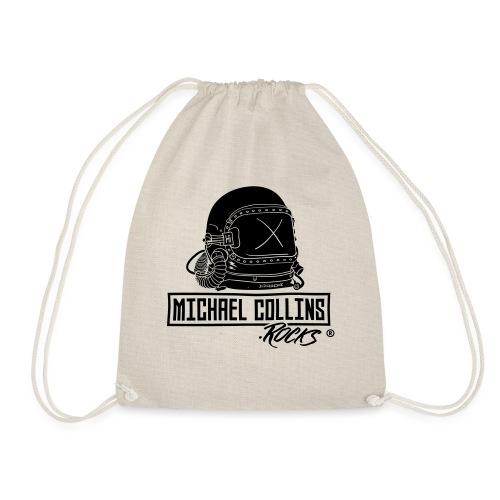 michaelcollins.rocks Logo Astronaut - Turnbeutel