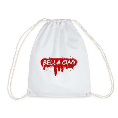 00288 Bella ciao rojo - Mochila saco
