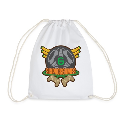 Sixpack Games Logo - Drawstring Bag