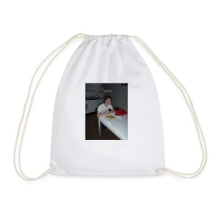 I WANT TO DIE - Drawstring Bag