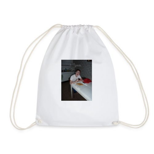 I WANT TO DIE - Drawstring Bag