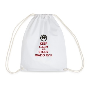 Keep Calm and Carry On - Drawstring Bag