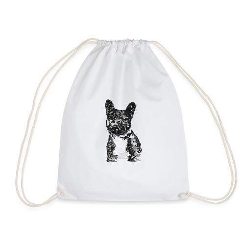 PICKLE The French Bulldog - Drawstring Bag