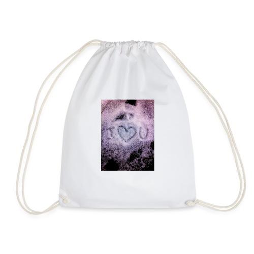 Ich liebe dich - Drawstring Bag