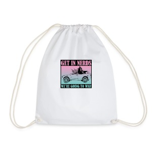 Get in Nerds! - Drawstring Bag