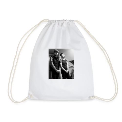 El Patron y Don Jay - Drawstring Bag