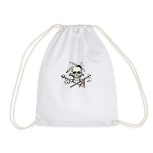 depositphotos 42906949 stock illustration the indi - Drawstring Bag