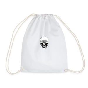 Skull logo - Drawstring Bag