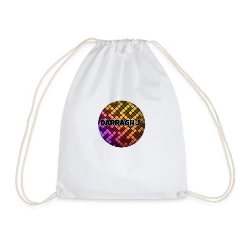Darragh J logo - Drawstring Bag