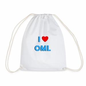 I LOVE OML - Gymtas
