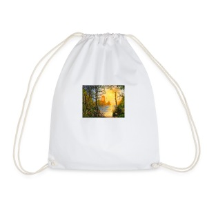 Temple of light - Drawstring Bag