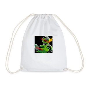 YOUTUBE NAME WITH A CAMO DUCK - Drawstring Bag