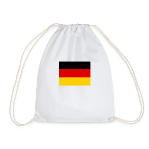 Deutschlandflagge - Turnbeutel