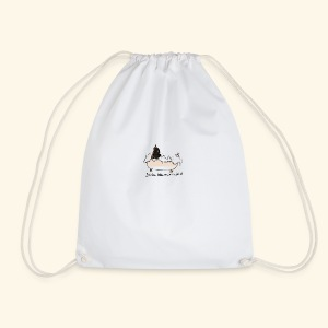 Basil in the bath - Drawstring Bag