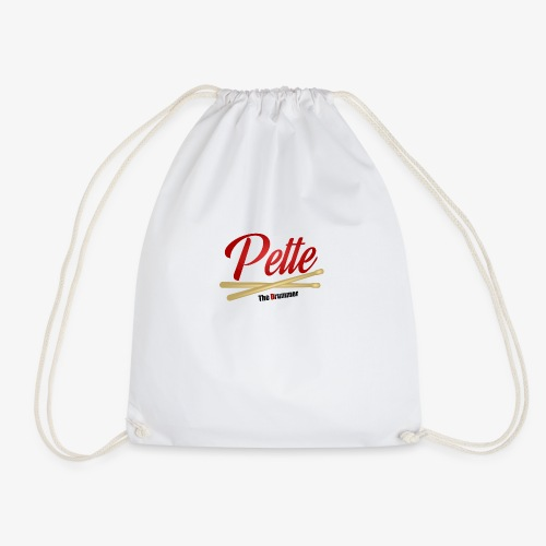 Pette the Drummer - Drawstring Bag