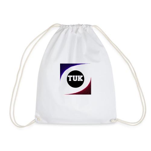new stream and youtube logo - Drawstring Bag