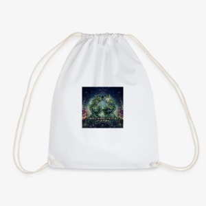 VA Breathing Earth cover front - Drawstring Bag