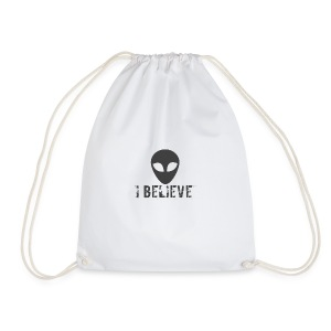 I believe logo - Drawstring Bag