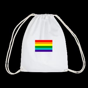 Gay pride rainbow vlag - Gymtas