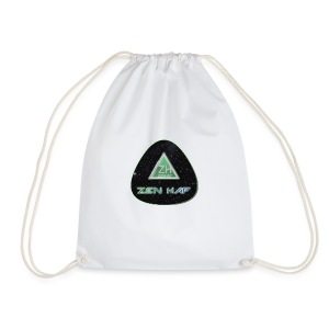 Zen Hap Rounded Triangle - Drawstring Bag