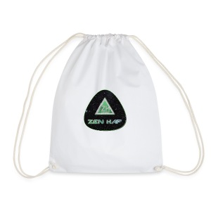Zen Hap Triangle Hi Res - Drawstring Bag