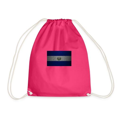 thumb2 flag of el salvador 4k leather texture nort - Mochila saco