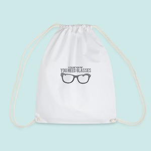 Need Glasses - Black - Sac de sport léger