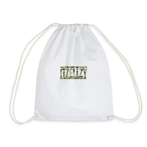 Camo Itz Ellzy logoc - Drawstring Bag