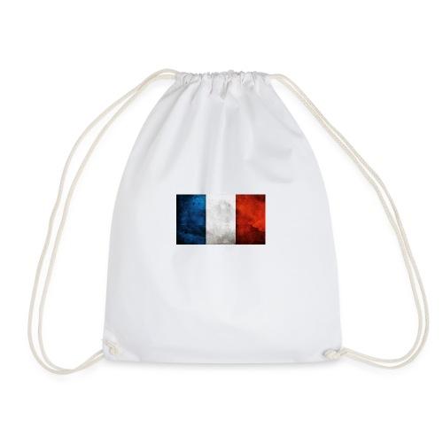 France Flag - Drawstring Bag