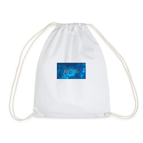 Ter Three Officail Banner - Drawstring Bag