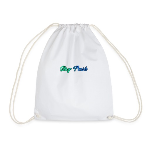 Stay Fresh Design - Drawstring Bag