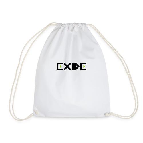 Logo Exide - Turnbeutel