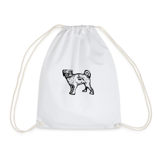 Pug Dog - Drawstring Bag